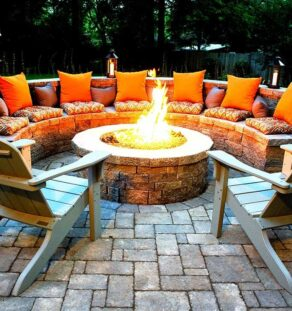 Outdoor Fire Pits-McKinney TX Professional Landscapers & Outdoor Living Designs-We offer Landscape Design, Outdoor Patios & Pergolas, Outdoor Living Spaces, Stonescapes, Residential & Commercial Landscaping, Irrigation Installation & Repairs, Drainage Systems, Landscape Lighting, Outdoor Living Spaces, Tree Service, Lawn Service, and more.