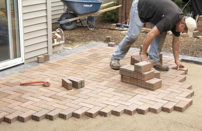 Pavers-McKinney TX Professional Landscapers & Outdoor Living Designs-We offer Landscape Design, Outdoor Patios & Pergolas, Outdoor Living Spaces, Stonescapes, Residential & Commercial Landscaping, Irrigation Installation & Repairs, Drainage Systems, Landscape Lighting, Outdoor Living Spaces, Tree Service, Lawn Service, and more.